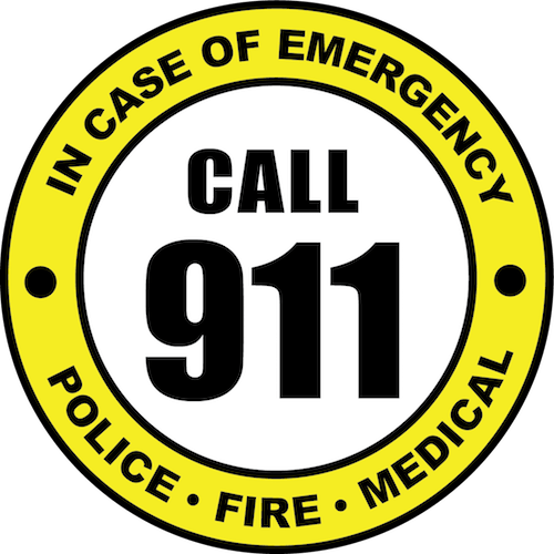 Dial 911 for All Emergencies